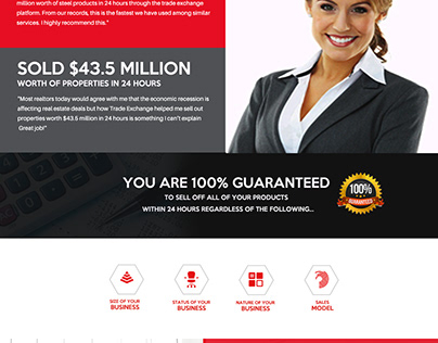 consulting company website template