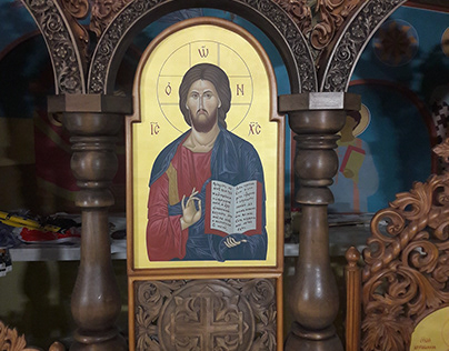 Icon of Jesus Christ from the iconostasis