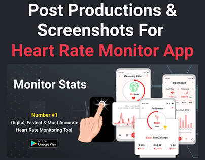 Heart Rate Monitor App Post Productions