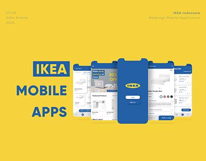UI/UX Redesign - Home Furniture Mobile App IKEA