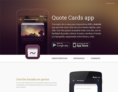 Web: Quote Cards
