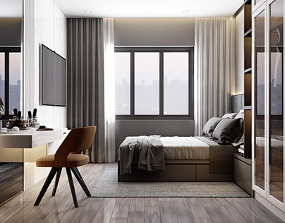 THE BEDROOMS MODERN STYLE