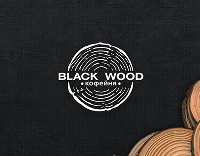 Black wood сafé
