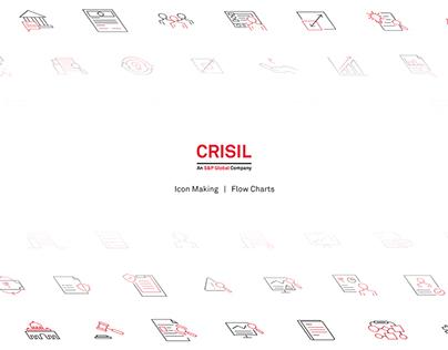Crisil - Icon Design & Flow Charts Design
