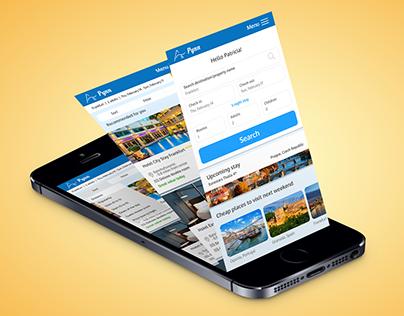 Pynn - Hotel booking app