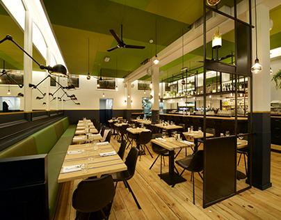 Restaurant Floreyn, a plate full of Dutch design