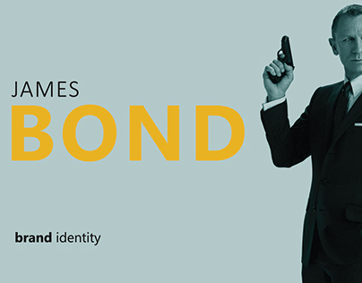 James Bond // Brand identity