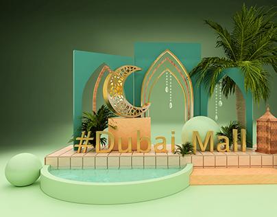 DUBAI MALL HASHTAG DESIGN 2021