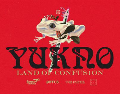 YUKNO - LAND OF CONFUS1ON TOUR DESIGN