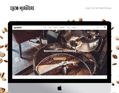Website and shop online coffee roaster - Enzo Muratore