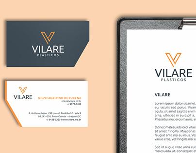 Branding for Vilare Plásticos.