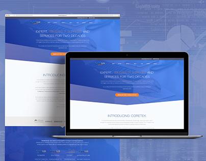Coretek Group Website Redesign