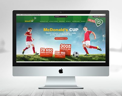 McDonald's CUP - website
