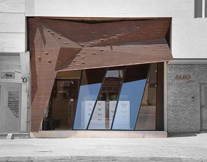 Saro gallery by Mehdi Qanavati and Amin Qorbani