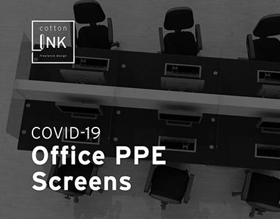 COVID-19 Return to Work PPE Screens