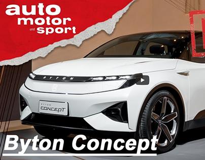 Byton Concept (2018): Tesla adé?!