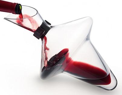 Wine duck decanter DAHLIA, PEUGEOT -2012-