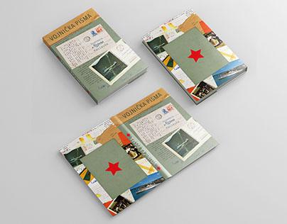"""Book Design """" Vojnička Pisma"""""""