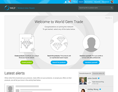 World Gem Trade Web Platform