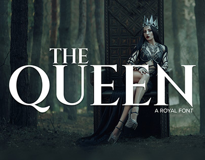 FREE FONT The Queen