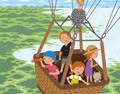 Children's adventure / digital work