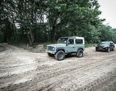 Land Rover at Military Fields