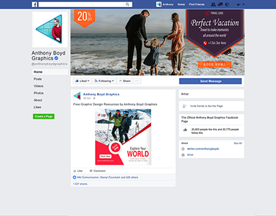 Social Media Cover and Post Design