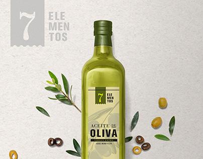 7 elementos - Olive Oil - Bodega Don Bosco