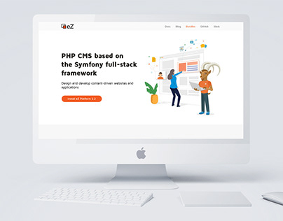 eZ Platform Website