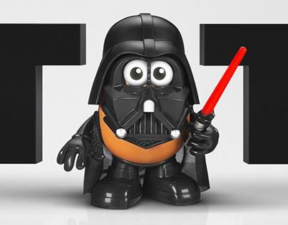 Mr Potato Vader