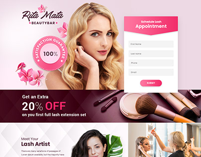 Beauty Salon Web Template