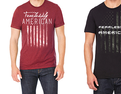 """""""Fearlessly American"""" T Shirt"""