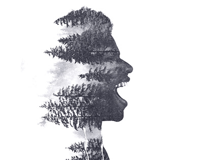 Double exposure — Screaming trees