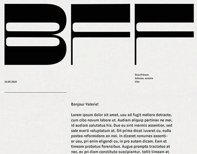 BFF - Identity