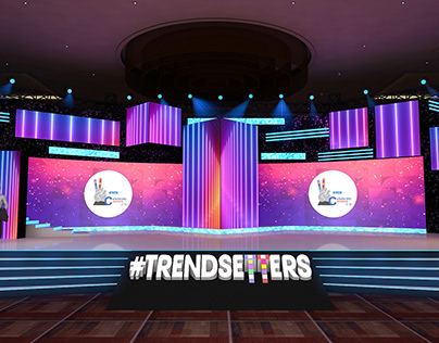 Reliance _ Trendsetters Event _ Stage Design