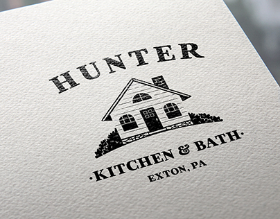 Hunter Kitchen & Bath Logo Design