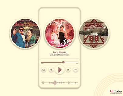 Music Player UI | Free Download