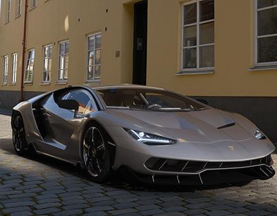 Automotive Render Study