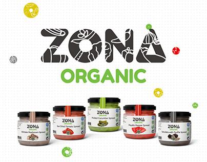 ZONA ORGANIC SPREADS_Label Design