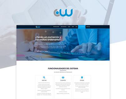 Comercio Web - Corporate Landing Page