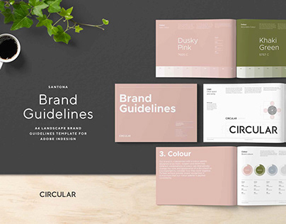 Santona / Brand Guidelines Template