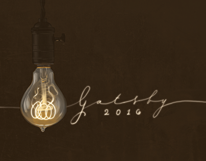 Gatsby 2016 - Splash Page