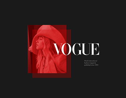 VOGUE — online fashion and lifestyle journal