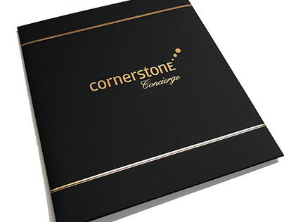 Cornerstone Concierge Mailer and Cards