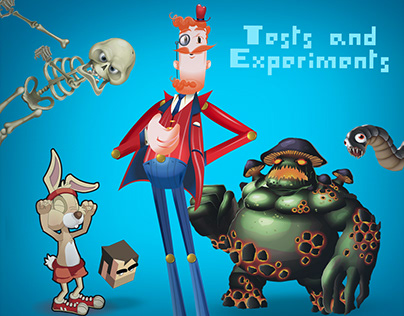 Animation tests and experiments