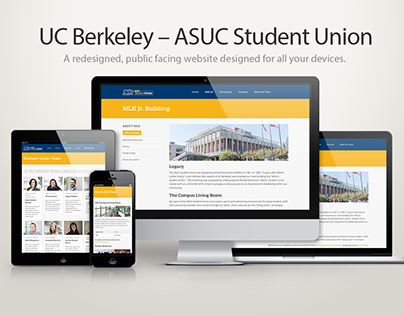 ASUC Student Union Digital Redesign