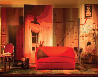 Set Design - The Star Spangled Girl