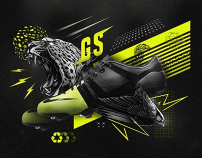 Nike GS Boot Poster