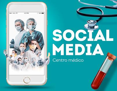 Social Media / Centro Médico
