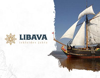 LIBAVA / Website & Logo